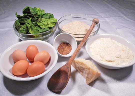 ingredienti per Malfatto di Carpenedolo