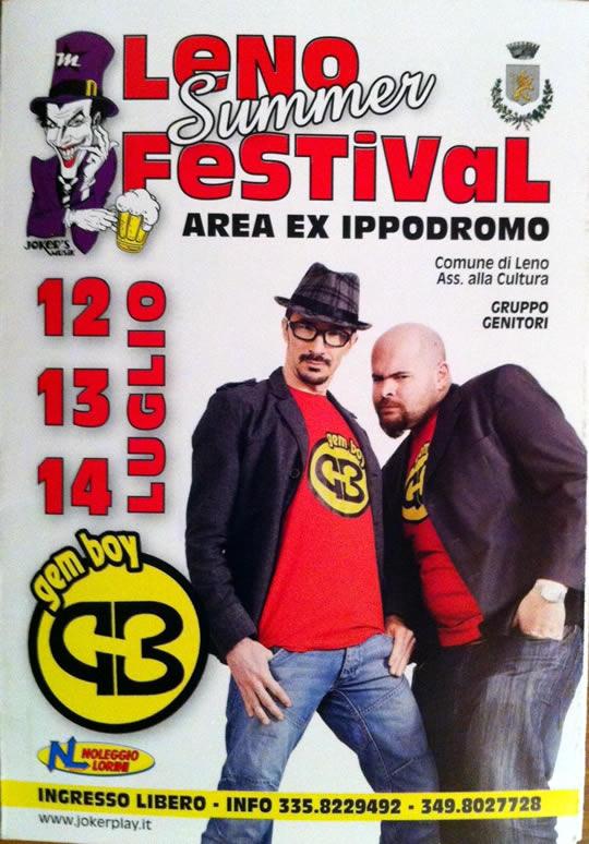 leno summer festival