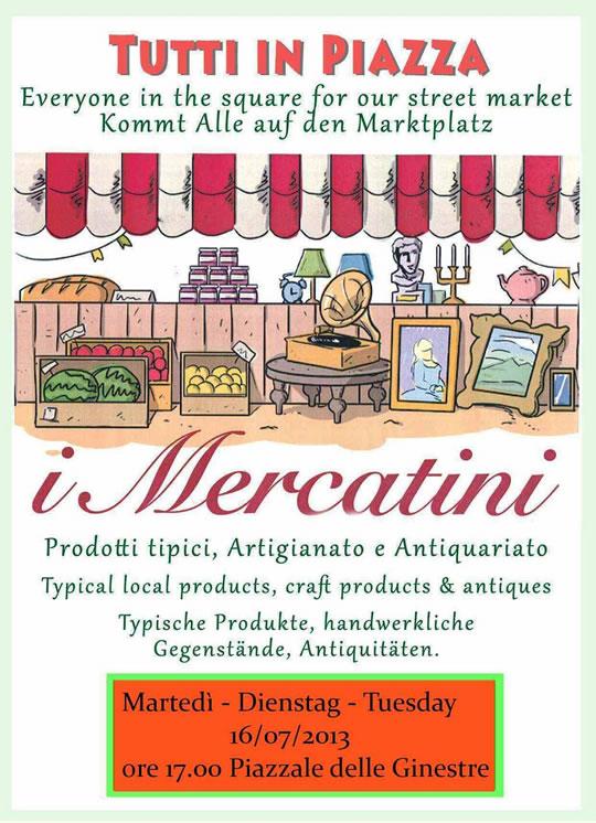 mercatini a Tignale