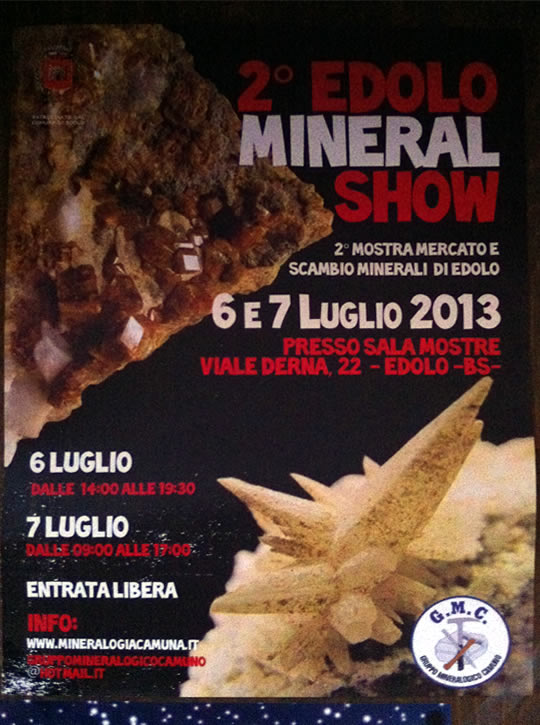mineral show a Edolo