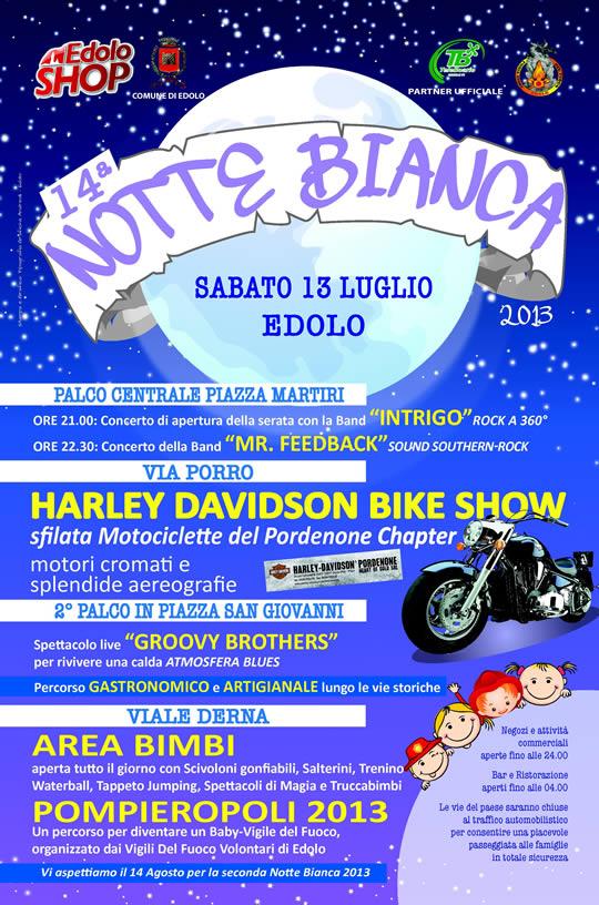 notte bianca a Edolo 2013