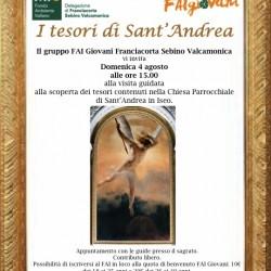 visita guidata i Tesori di Sant Anna