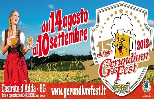 15° Gerundium Fest 2013 Casirate D'Adda