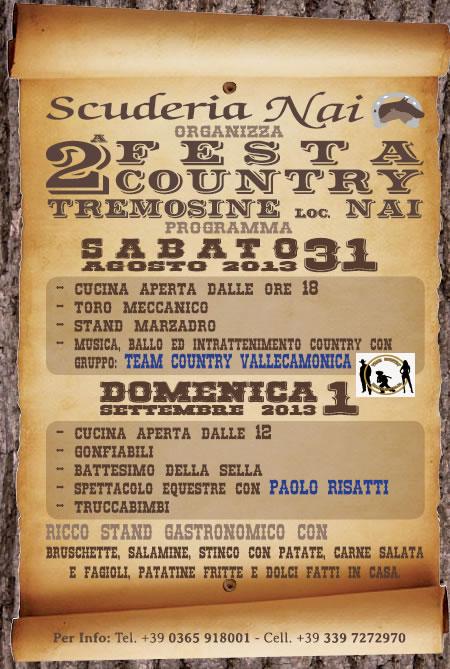 2 Festa Country a Tremosine