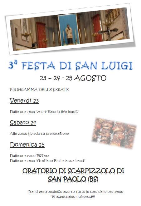3 Festa di San Luigi a Scarpizzolo