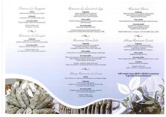 3 Rassegna della cucina tipica di Monte Isola 2013 info