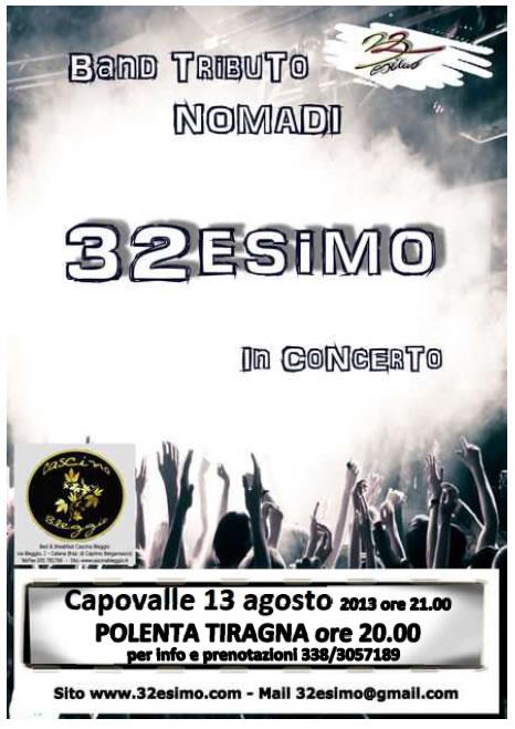 32esimo in Concerto a Capovalle