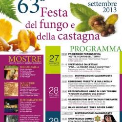 63 Festa del Fungo e della Castagna a Pisogne