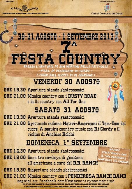 7 Festa Country a San Martino della Battaglia