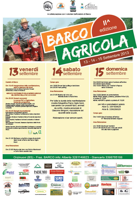 Barco Agricola a Orzinuovi