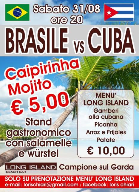 Brasile Vs Cuba a Campione sul Garda