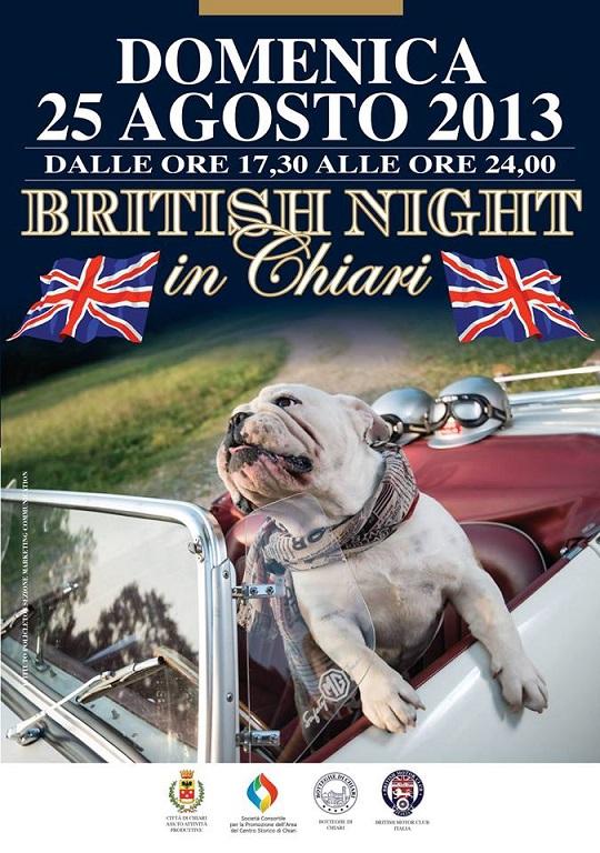 British Night in Chiari 2013