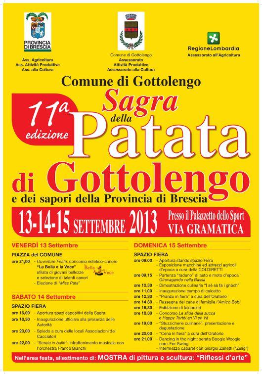 11° Sagra della Patata a Gottolengo