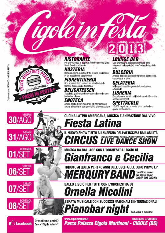 Cigole in Festa 2013