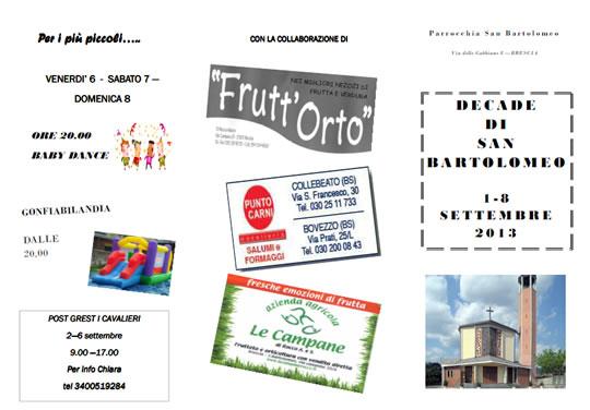 Decade di San Bartolomeo a Brescia