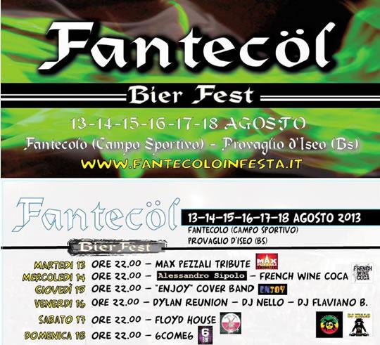 Fantecol Bier Fest 2013
