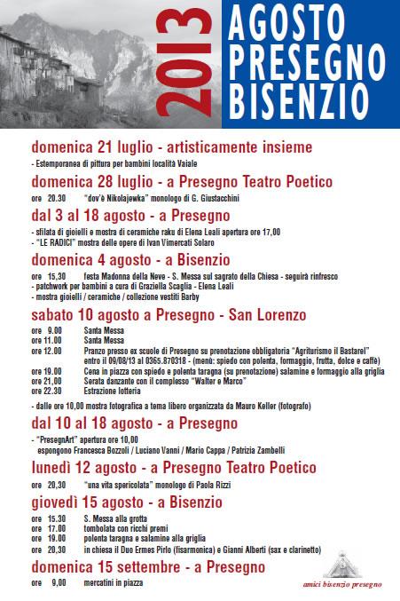 Festa Patronale di San Lorenzo a Presegno