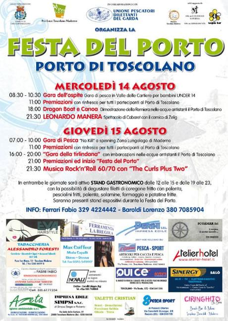 Festa del Porto a Toscolano