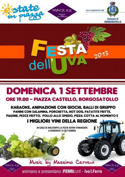 Festa dell' Uva a Borgosatollo
