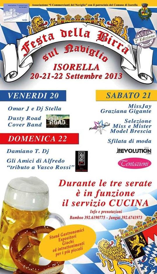 Festa della Birra Isorella 2013 A