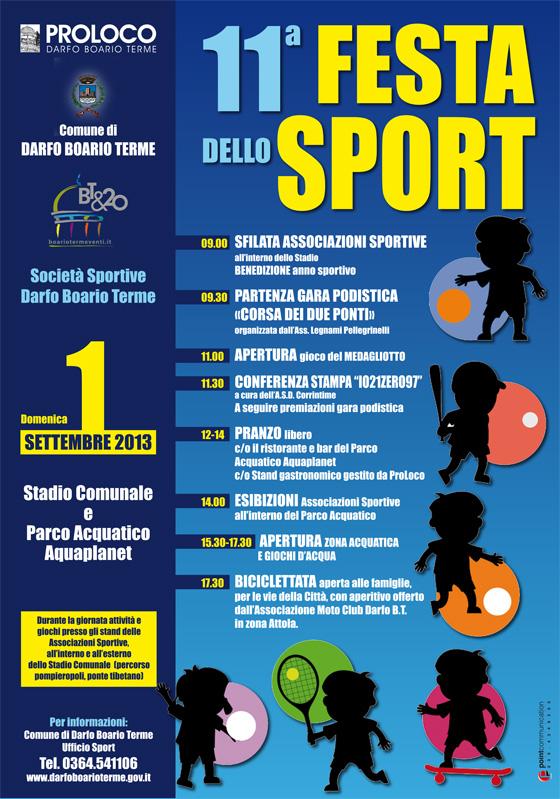 11° Festa dello Sport a Darfo Boario