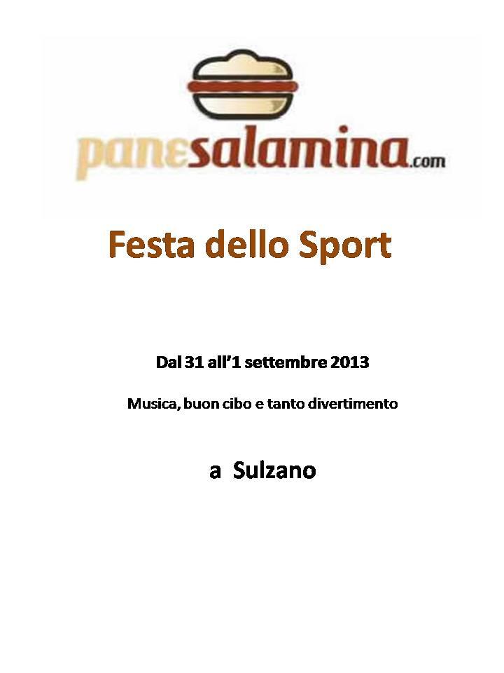 Festa dello sport a Sulzano