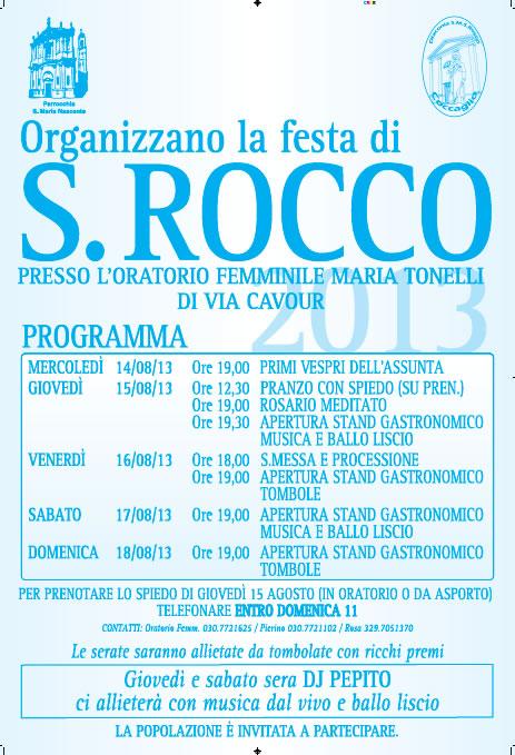 Festa di S. Rocco a Coccaglio