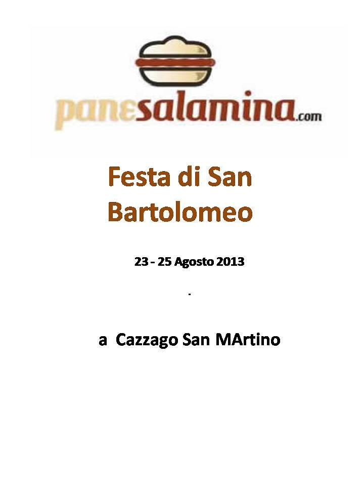 Festa di San Bartolomeo a Cazzago