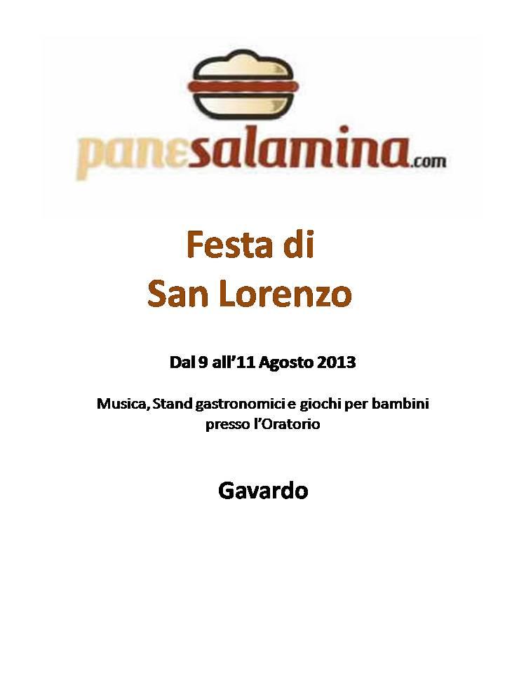 Festa di San Lorenzo a Gavardo