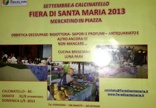 Fiera di Santa Maria a Calcinatello