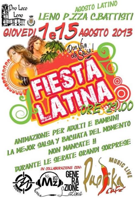 Fiesta Latina a Leno