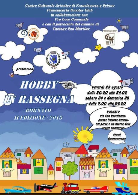 Hobby in Rassegna a Bornato