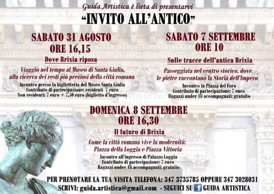 Invito all' Antico a Brescia
