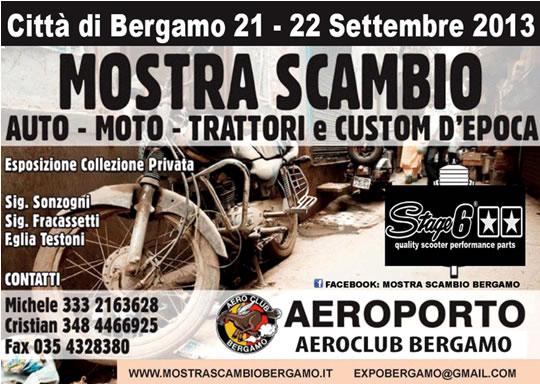 Mostra Scambio a Bergamo