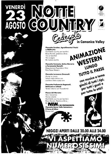Notte Country a Cedegolo