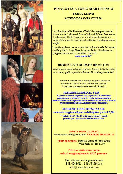 Pinacoteca Tosio Martinengo con ScopriBrescia