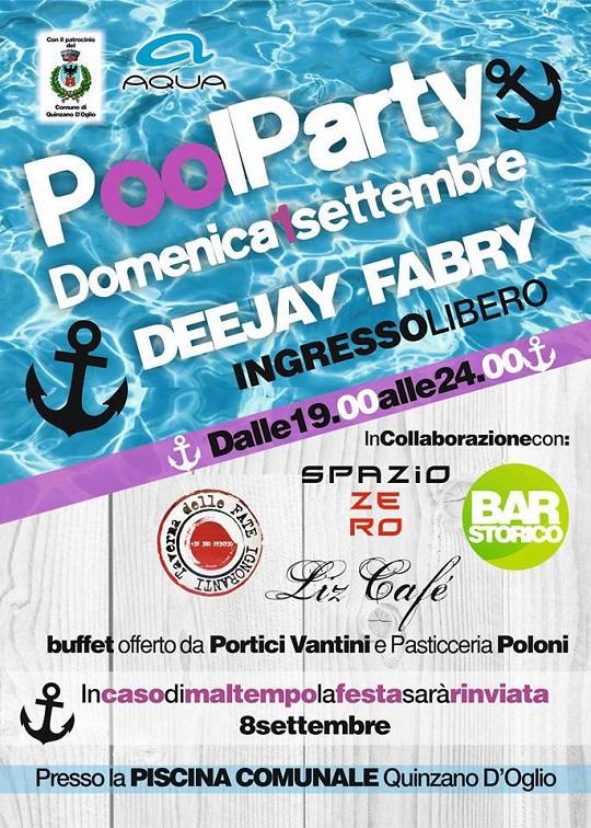 Pool Party Quinzano D'oglio 2013