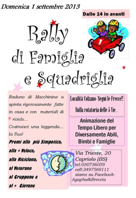 Rally di Famiglia a Capriolo
