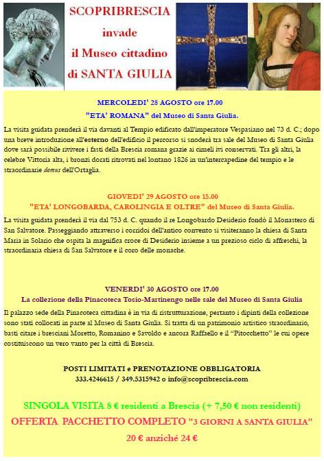 ScopriBrescia invade il Museo di Santa Giulia