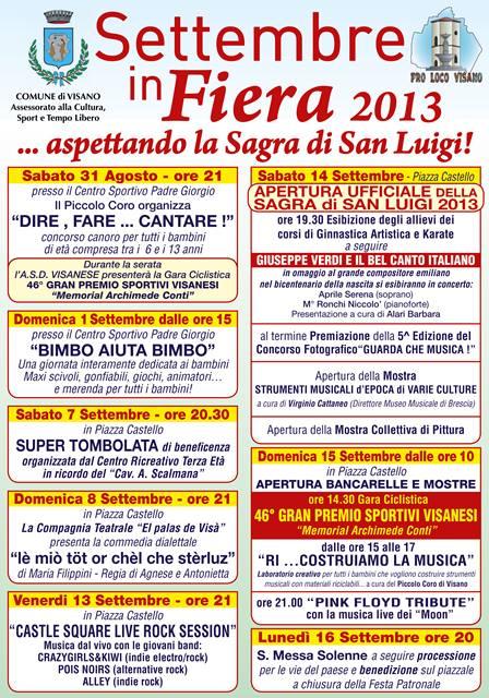 Settembre in Fiera - Sagra di San Luigi Visano 2013