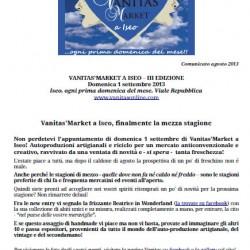 Vanitas Market a Iseo