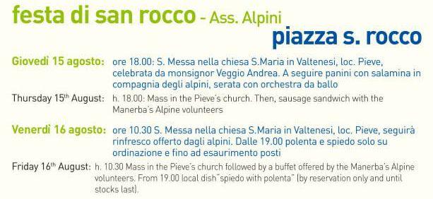 Festa di San Rocco a Manerba