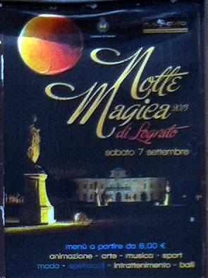 notte magica di Lograto