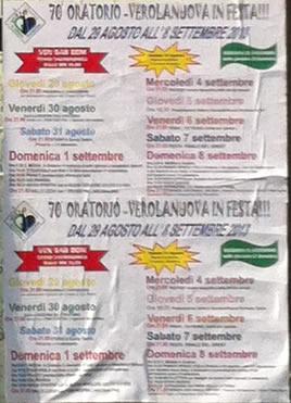 oratorio in festa a Verolanuova
