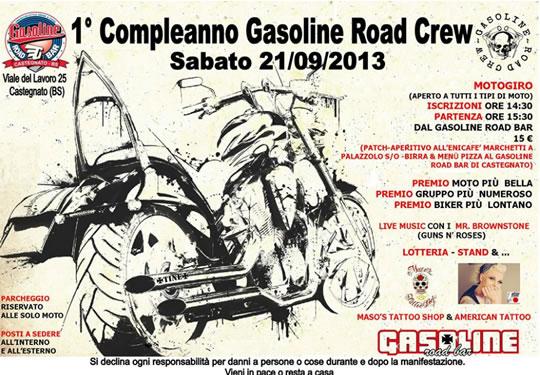 1 Compleanno Gasoline Road Crew a Castegnato