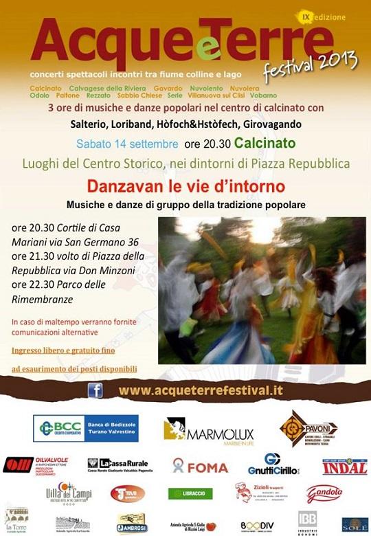 Acque e Terre Festival 2013 Calcinato