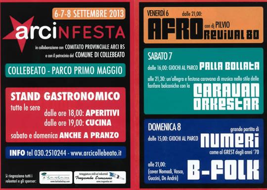 ArcinFesta a Collebeato