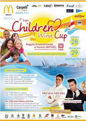 Children Wind Cup a Bogliaco