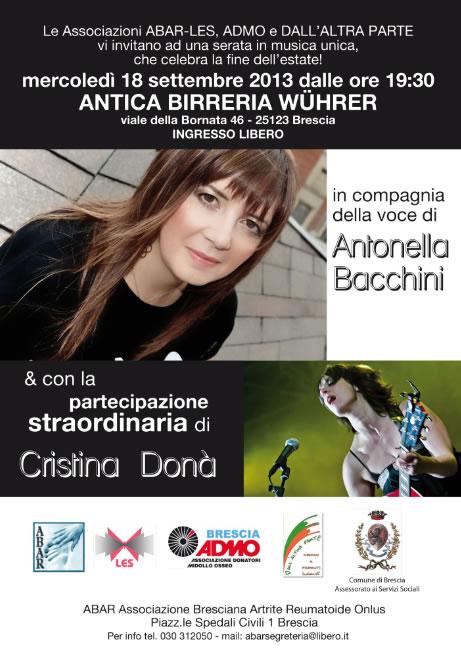 Concerto di A. Bacchini E C. Dona' a Brescia