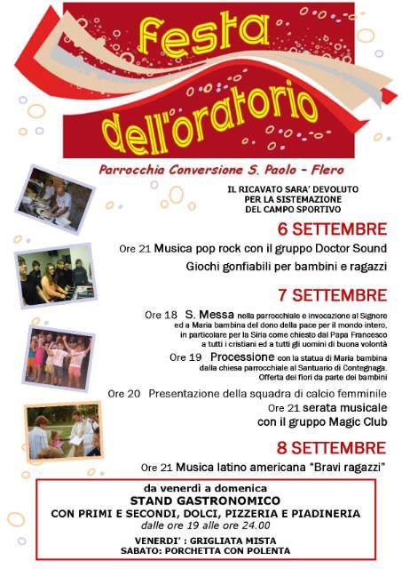 Festa dell' Oratorio a Flero